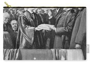 Mckinley Taking Oath, 1897 Carry-all Pouch