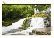 Mclean Falls In The Catlins Of South New Zealand Carry-all Pouch