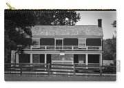 Mclean House Bw Appomattox Virgnia Carry-all Pouch