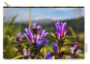 Meadow And Mountains Carry-all Pouch