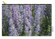 Meadow Sage Flowers Carry-all Pouch