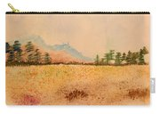 Meadow Wildflowers - Watercolor Carry-all Pouch