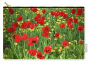 Meadow With Tulips Carry-all Pouch