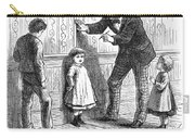 Measuring Children, 1876 Carry-all Pouch