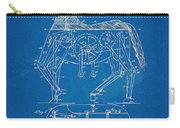 Mechanical Horse Toy Patent Artwork 1893 Carry-all Pouch by Nikki Marie Smith