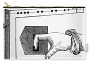 Medieval Finger Pillory Carry-all Pouch by Granger