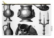 Medieval Utensils Carry-all Pouch