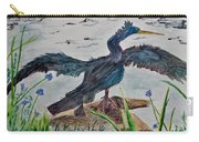 Anhinga-drying Out Carry-all Pouch