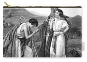 Meeting Of Jacob & Rachel Carry-all Pouch