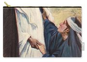 Meeting Of Jesus And Martha Carry-all Pouch