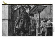 Meissonier: Flute Player Carry-all Pouch