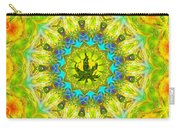 Mellow Yellow Mandala Carry-all Pouch
