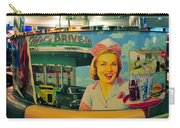 Mels Drive In Carry-all Pouch by David Lee Thompson