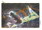Melted Pin Up Girl Carry-all Pouch
