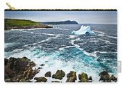 Melting Iceberg In Newfoundland Carry-all Pouch by Elena Elisseeva