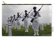 Members Of A Ceremonial Honor Guard Carry-all Pouch