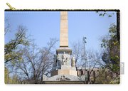 Memorial Monument In Madrid Carry-all Pouch