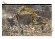 Men At Work Construction Site Carry-all Pouch