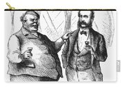 Men Drinking, 1872 Carry-all Pouch