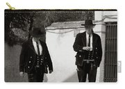 Men In Costume Carry-all Pouch