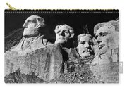 Men Working On Mt. Rushmore Carry-all Pouch