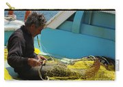 Mending His Nets Carry-all Pouch
