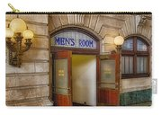 Mens Room Carry-all Pouch