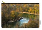 Meramec River Bend At Castlewood State Park Carry-all Pouch