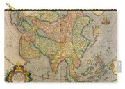 Mercators Map Of Asia Carry-all Pouch