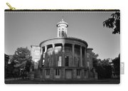 Merchant Exchange Building - Philadelphia In Black And White Carry-all Pouch