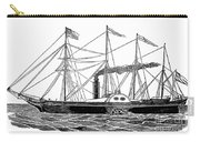 Merchant Steamship, 1838 Carry-all Pouch
