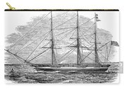 Merchant Steamship, 1844 Carry-all Pouch