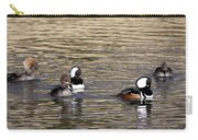Mergansers Making Waves Carry-all Pouch