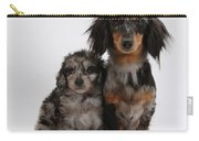 Merle Dachshund And Doxie Doddle Pup Carry-all Pouch