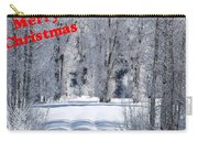Merry Christmas Card 1 Carry-all Pouch