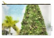 Merry Christmas Tree 2012 Carry-all Pouch
