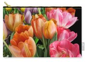 Merry Dresden Style Tulips Carry-all Pouch