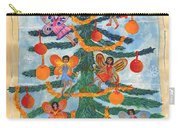 Merry Xmas Tree Fairies Carry-all Pouch