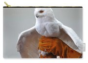 Message Snowy Owl Carry-all Pouch