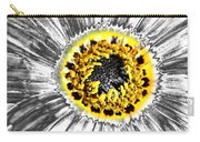 Metalised Gazania Flower Carry-all Pouch