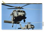 Mh-60s Sea Hawk Helicopters In Flight Carry-all Pouch
