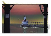 Michigan City Lighthouse 2 Carry-all Pouch
