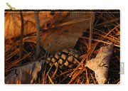 Michigan Golden Sunset Pine Cone Carry-all Pouch
