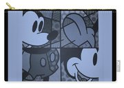 Mickey In Cyan Carry-all Pouch