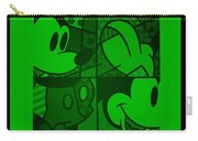 Mickey In Green Carry-all Pouch