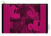 Mickey In Hot Pink Carry-all Pouch