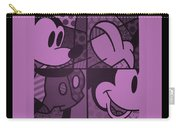 Mickey In Light Pink Carry-all Pouch