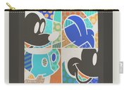 Mickey In Negative Carry-all Pouch