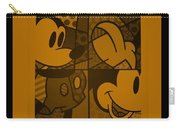 Mickey In Orange Carry-all Pouch