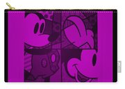 Mickey In Purple Carry-all Pouch